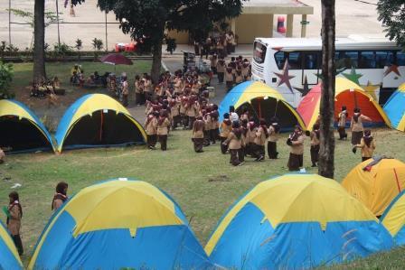 Camping Villa Bukit Hambalang | Paket Camping Sentul Harga Murah